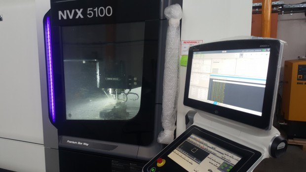 DMG-MORI NVX 5100 machine 2